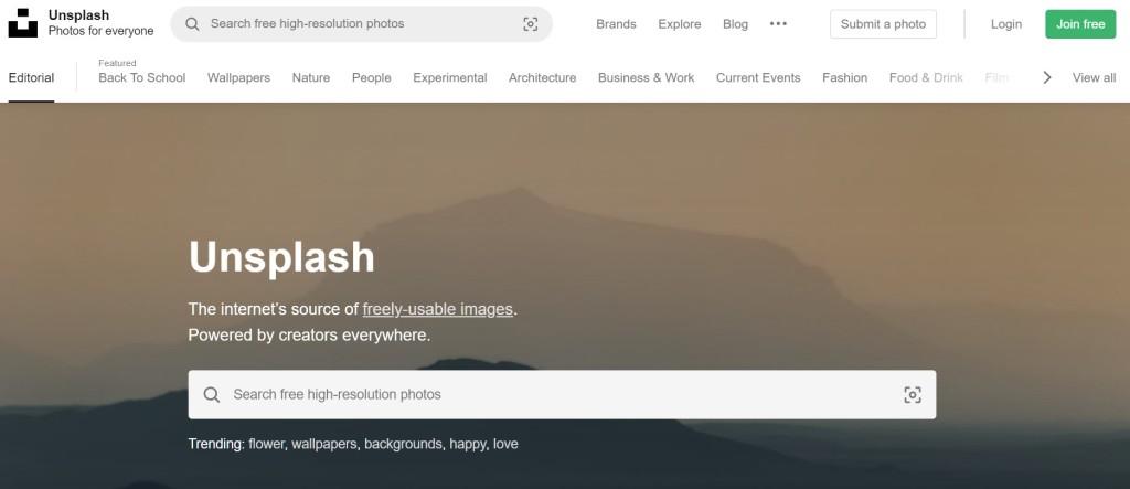 Where to get blog images _ Unsplash _natalitopliff.com